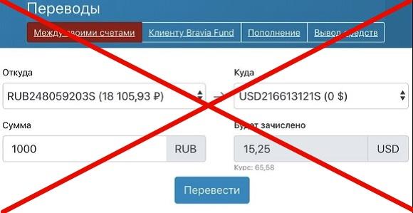 Bravia.fund - отзывы о проекте