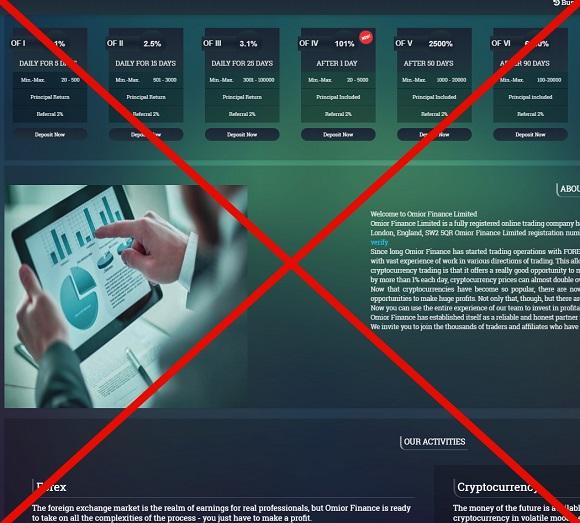 Omiorfinance.com - плохие инвестиции с Omior Finance, отзывы