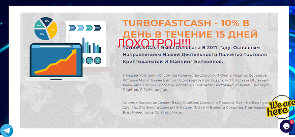 TurboFastCash - обзор и отзывы о turbofastcash.com