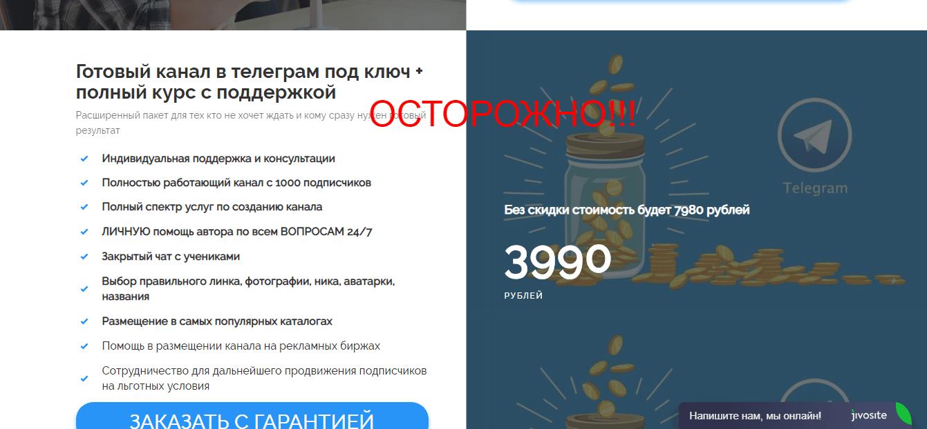 Отзывы о курсе Быстрые деньги в Телеграмм от Андрея Васильева