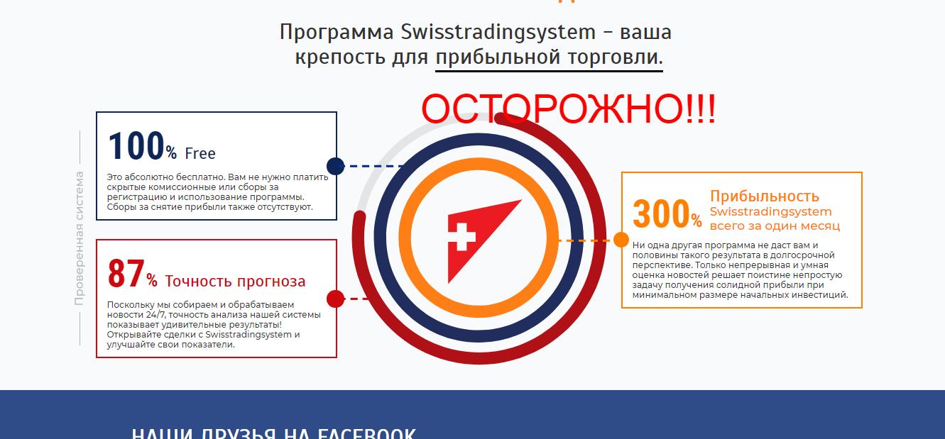 Swisstradingsystem - реальные отзывы