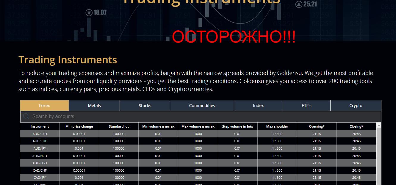Goldensu - реальные отзывы о goldensu.com
