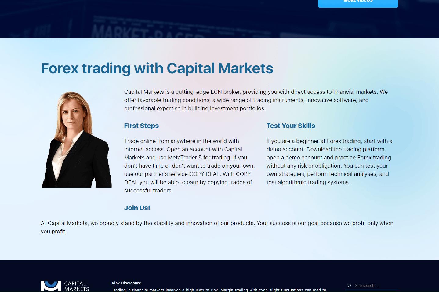 Capital Markets - реальные отзывы о capital-markets.com