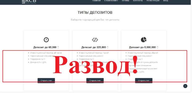 RCB Online - обзор и отзывы о rcb-online.ru