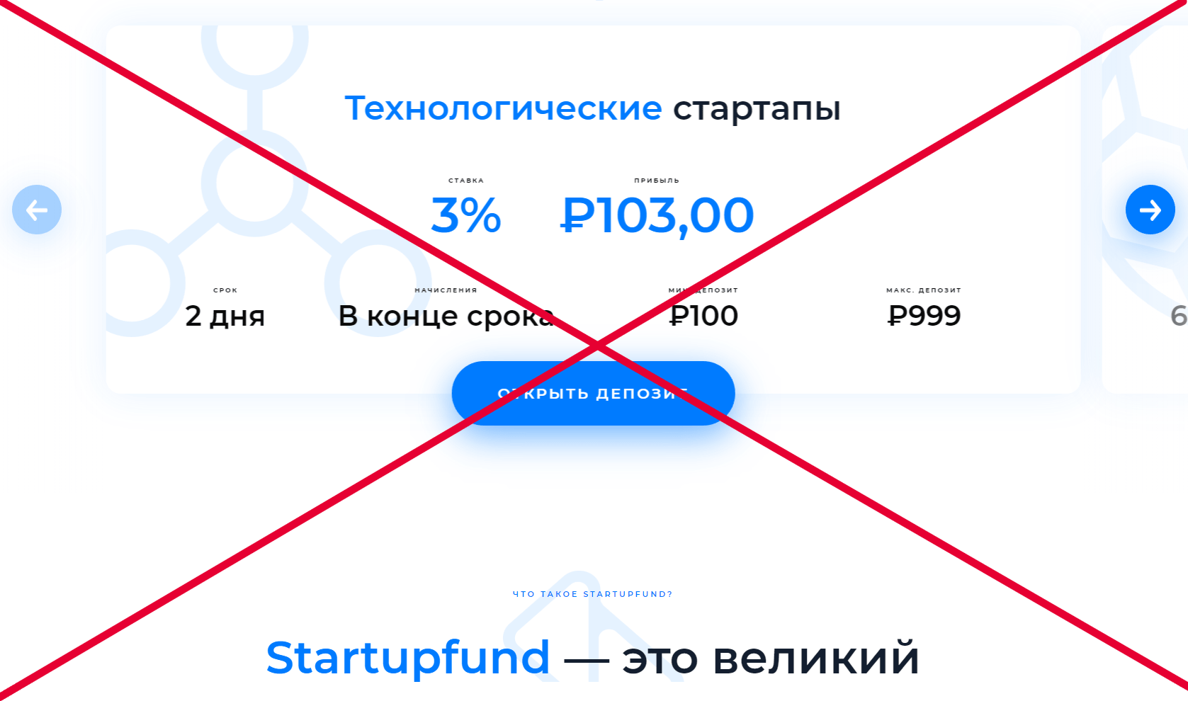 Отзывы о Startupfund - обзор startupfund.ltd