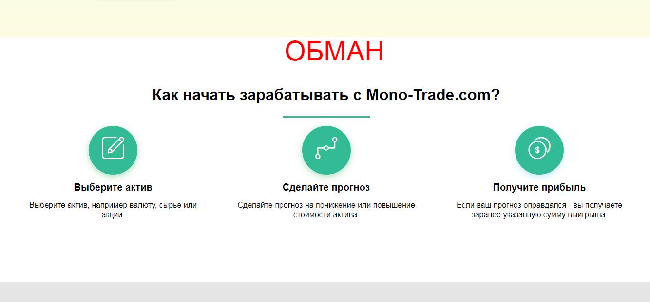 Брокер Mono-Trade.com - какие отзывы?