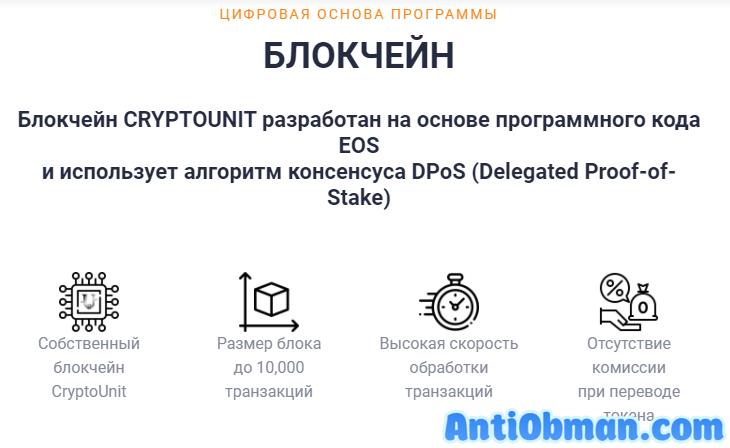 Цифровая версия программы CryptoUnit