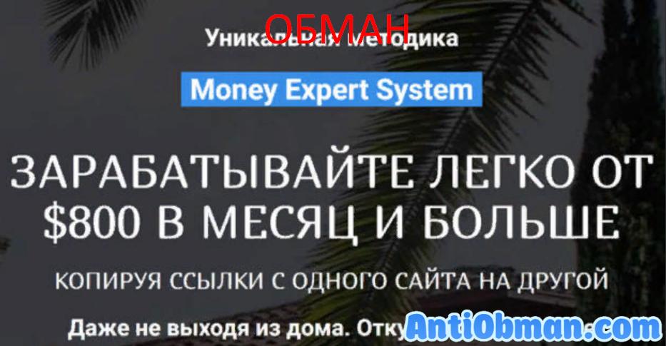 Money Expert System - курс по заработку. Отзывы и обзор