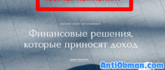 Raison Asset Management - отзывы и обзор