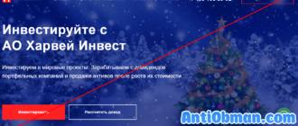АО Харвей Инвест - отзывы и обзор