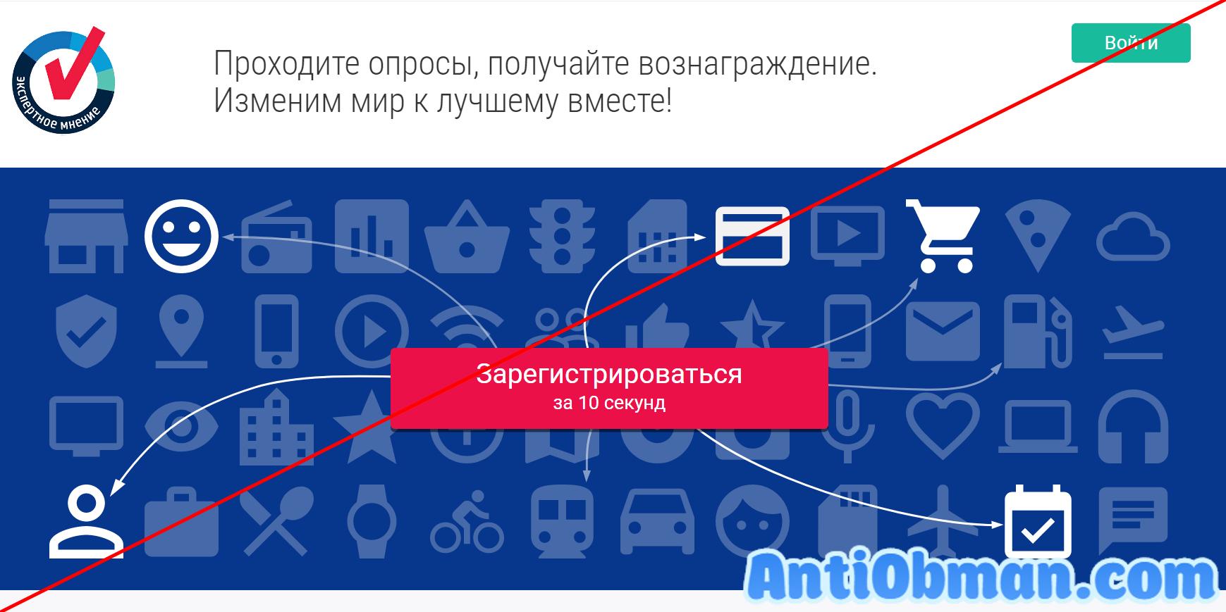 Опросник Экспертное мнение (expertnoemnenie.ru)