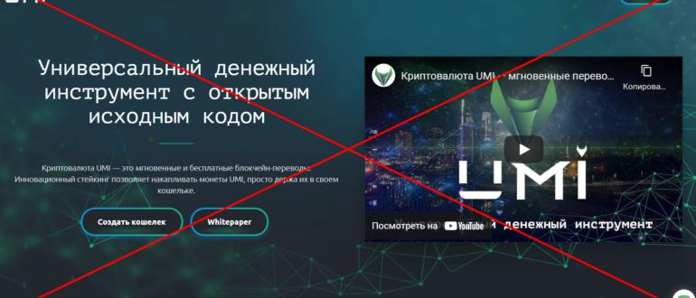 Отзывы о криптовалюте UMI (umi.top)