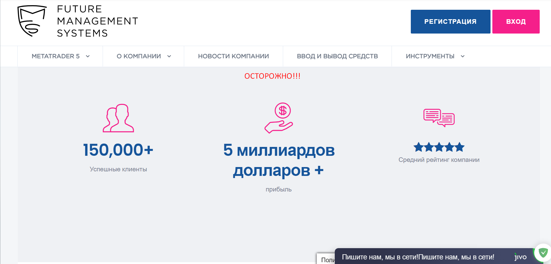 Future Management Systems развод